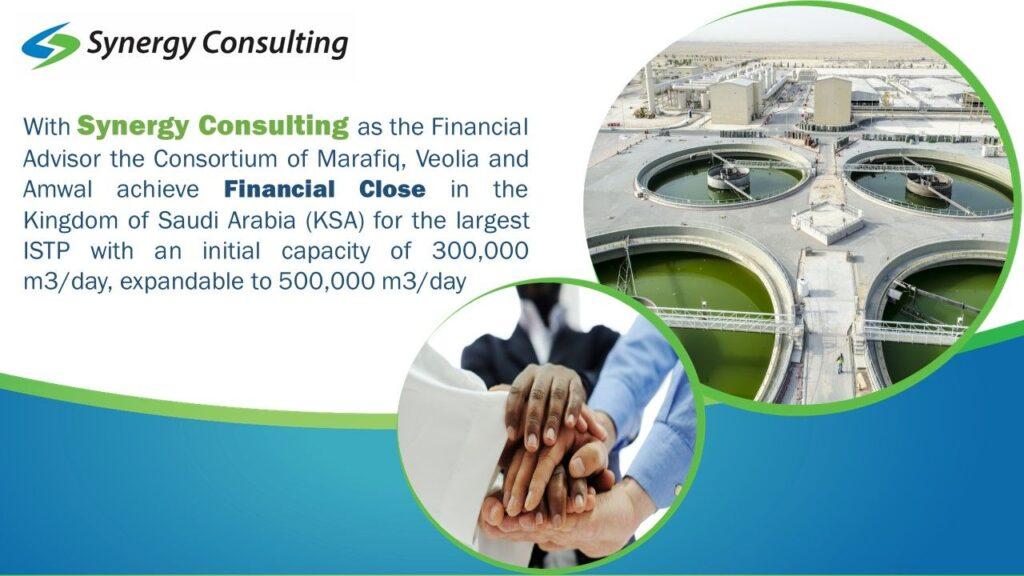 Financial Consulting advisor to Consortium of Marafiq, Veolia, and Amwal