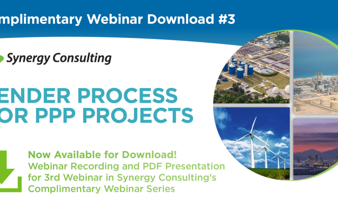 Webinar: PPP Tender Process – Key Considerations and Stages