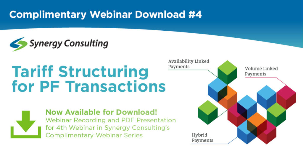 Webinar Download - Tariff Structures