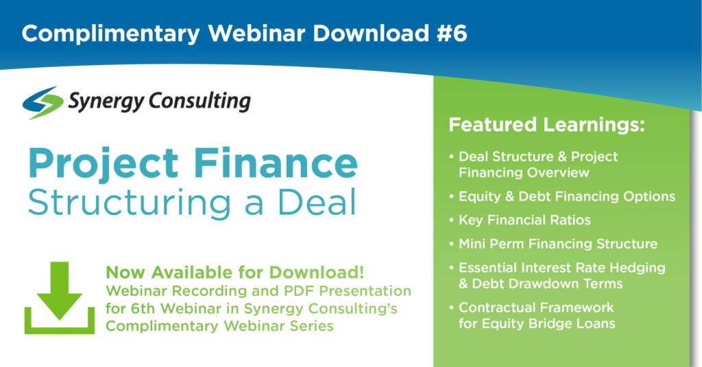 Synergy Consulting Webinar - Project Finance
